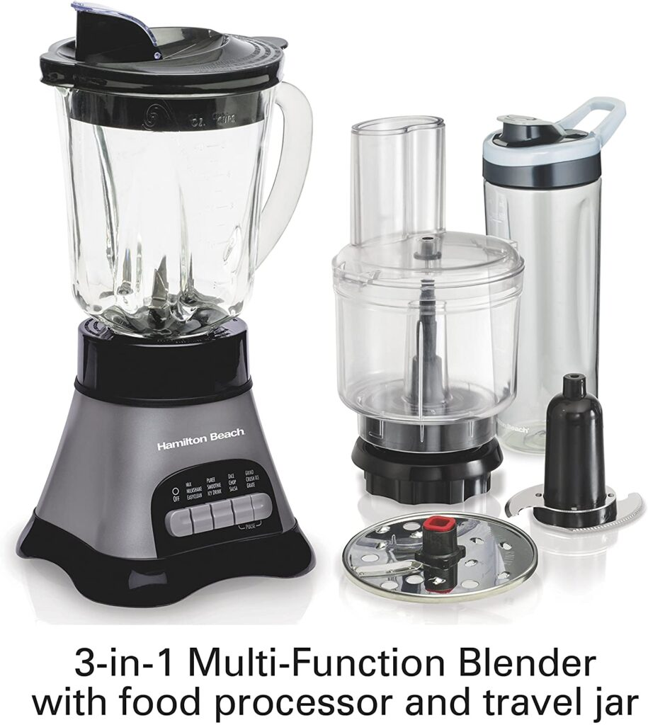 Hamilton Beach Wave Crusher Blender And Attachments